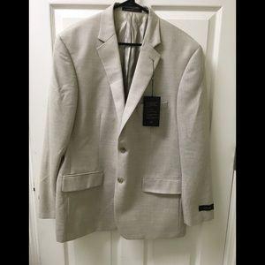 Men's Tasso Elba 44R Sports coat, org tags
